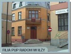 Zdjęcie przedstawia budynek, w którym mieści się Filia PUP w Iłży